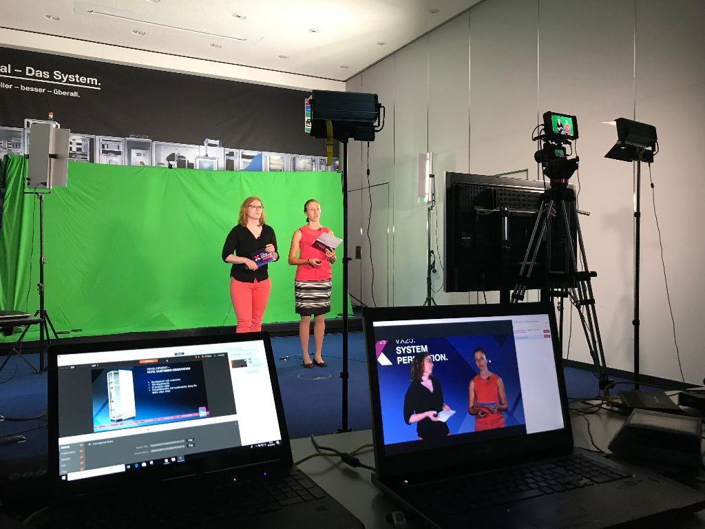 Proefssionelle Kamera Aufnahmen